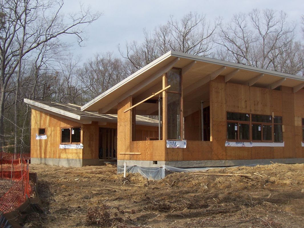 Under construction photos maryland md virginia va for Liberty home builders