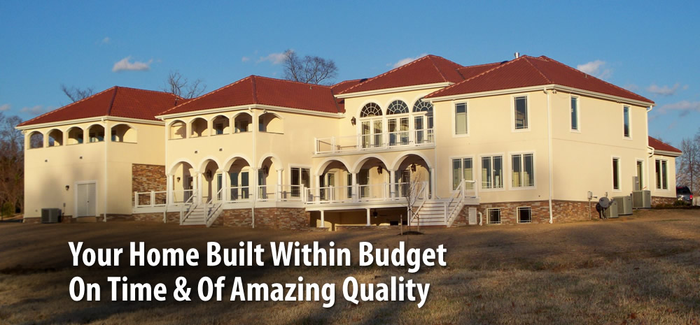 Custom home builder home builders liberty custom homes for Home builders in southern maryland